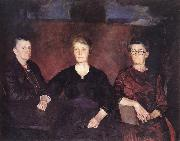 Charles Hawthorne Three Women of Provincetown oil painting