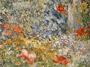 Childe Hassam In the Garden Celia Thaxter in Her Garden oil painting picture wholesale