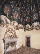 Correggio View of the Camera di San Paolo and of the vault oil painting picture wholesale