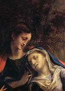 Correggio Deposition,details oil painting picture wholesale