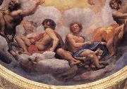 Correggio Details of the cupola with the apostles Philip and Thaddeus,James the Less and Thomas,Andrew and Jomes the Great oil painting picture wholesale