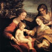 Correggio Wedding of Saint Catherine oil painting picture wholesale