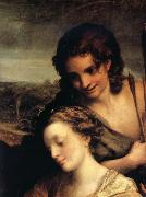 Correggio Wedding of Saint Catherine,details oil painting picture wholesale