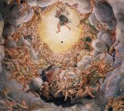 Correggio Assumption of the Virgin,detail of the cupola oil painting picture wholesale