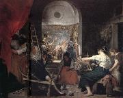 Diego Velazquez The Tapestry-Weavers oil painting picture wholesale