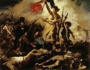 Eugene Delacroix Liberty Leading the People,july 28,1830 oil painting picture wholesale