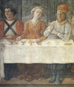 Fra Filippo Lippi Details of The Feast of Herod oil painting picture wholesale