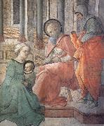 Fra Filippo Lippi Details of the Naming of t John the Baptist oil painting picture wholesale