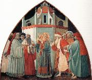 Fra Filippo Lippi The Prato Master,St Stephen Preaching to the Pharisees oil painting picture wholesale