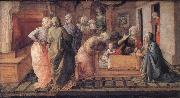 Fra Filippo Lippi The Infant St Ambrose's Mirache of the Bees oil painting picture wholesale