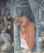 Fra Filippo Lippi Details of The Mission of St John the Bapitst oil painting picture wholesale