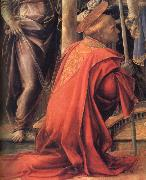Fra Filippo Lippi Details of Madonna and Child with Angels,St Frediano and St Augustine oil painting picture wholesale
