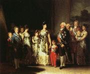 Francisco Goya Portrait of the Family of Charles IV oil