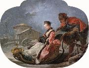 Francois Boucher Winter oil painting picture wholesale