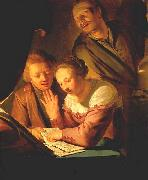 GREBBER, Pieter de Musical Trio oil painting picture wholesale