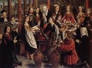 Gerard David Les Noces de Cana oil painting artist