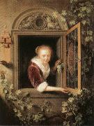 Gerrit Dou Girl at the Window oil painting picture wholesale