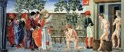 Giovanni di Francesco St Nicholas Resurrects Three Murdered Youths oil painting artist
