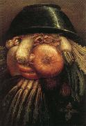 Giuseppe Arcimboldo Vegetables in a Bowl or The Vegetable Gardener oil painting picture wholesale