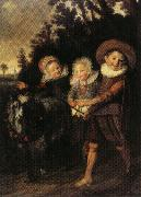 HALS, Frans The Group of Children oil painting picture wholesale