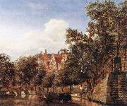 HEYDEN, Jan van der View of the Herengracht, Amsterdam oil painting picture wholesale