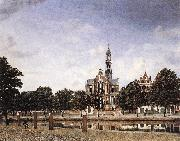 HEYDEN, Jan van der View of the Westerkerk, Amsterdam oil painting picture wholesale