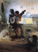 Henry Ossawa Tanner The Banjo Lesson oil painting