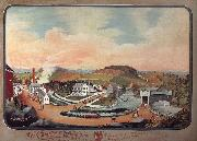 Hofmann Charles C. View of Henry Z.Van Reed's Farm,Papermill and Surroudings oil painting picture wholesale