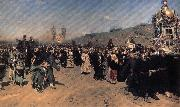 Ilya Repin A Religious Procession in kursk province oil painting picture wholesale