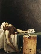 Jacques-Louis David Marat Assassinated in His Bath oil painting picture wholesale
