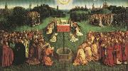 Jan Van Eyck Adoration fo the Mystic Lamb,from the Ghent Altarpiece oil painting picture wholesale