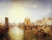 Joseph Mallord William Turner The harbor of dieppe oil painting picture wholesale