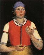 Kasimir Malevich The Working Woman oil painting picture wholesale