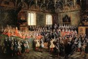 LANCRET, Nicolas Solemn Session of the Parliament for KingLouis XIV,February 22.1723 oil painting picture wholesale