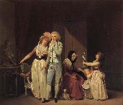 Louis-Leopold Boilly Ce qui allume l'amour l'eteint ou le philosophe oil painting picture wholesale