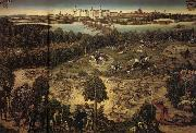 Lucas Cranach The Stag Hunt oil painting