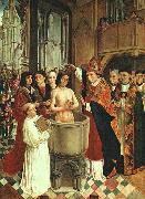 MASTER of Saint Gilles The Baptism of Clovis oil painting artist