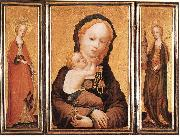 MASTER of Saint Veronica Triptych oil painting picture wholesale