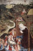 MASTER of the Polling Panels Adoration of the Child oil painting artist