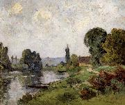 Maufra Maxime Emile Louis Paysage oil painting artist