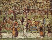 Maurice Prendergast Central Park oil painting on canvas