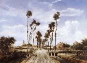 Meindert Hobbema The Alley at Middelharnis oil painting picture wholesale