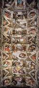 Michelangelo Buonarroti Ceiling of the Sistine Chapel oil painting picture wholesale