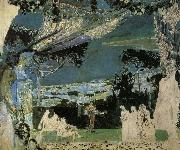 Mikhail Vrubel Italy.A.Night in Naples oil painting picture wholesale