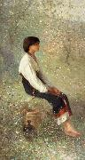 Nicolae Grigorescu Spring oil painting picture wholesale