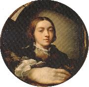 PARMIGIANINO Self-portrait in a Convex Mirror Germany oil painting reproduction