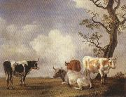 POTTER, Paulus Four Bulls oil painting picture wholesale