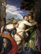 Paolo Veronese Allegory of virtue and vice oil painting picture wholesale