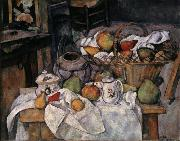 Paul Cezanne Still Life with Basket oil painting picture wholesale