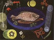 Paul Klee Around the Fish oil painting picture wholesale